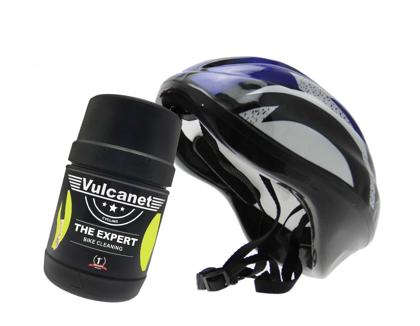 Vulcanet vélo et casque